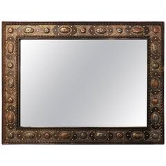A Pair of Tribal Style Hanging Wall Mirror