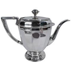 Antique Tiffany St Dunstan Sterling Silver Coffeepot