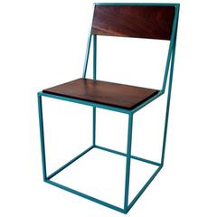 Archetype Chair, Side Chair, Contemporary Modern, Steel and Wood