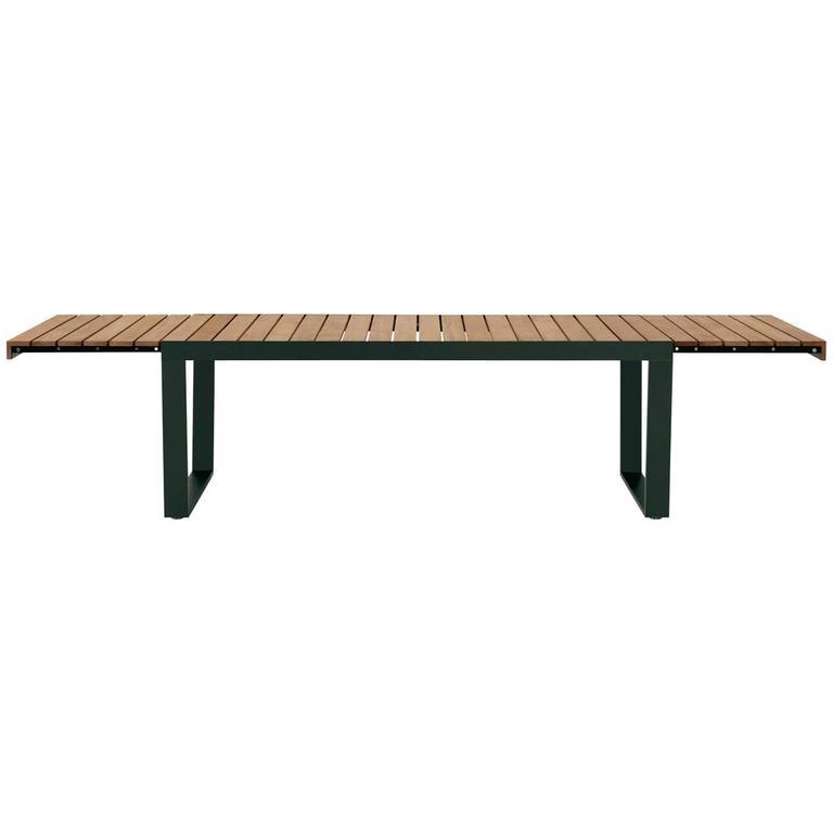 Roda Spinnaker Outdoor Dining Extendable Table In Teak For