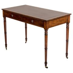 19th Century Mahogany Writing Table, England, circa 1850