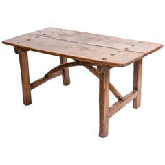 18th Century Portuguese Chestnut Farmhouse Table