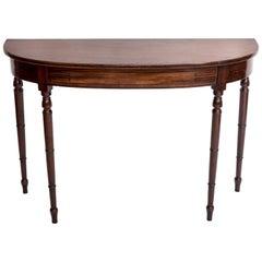 Early 19th Century Regency Hall Console Table, England, circa 1820