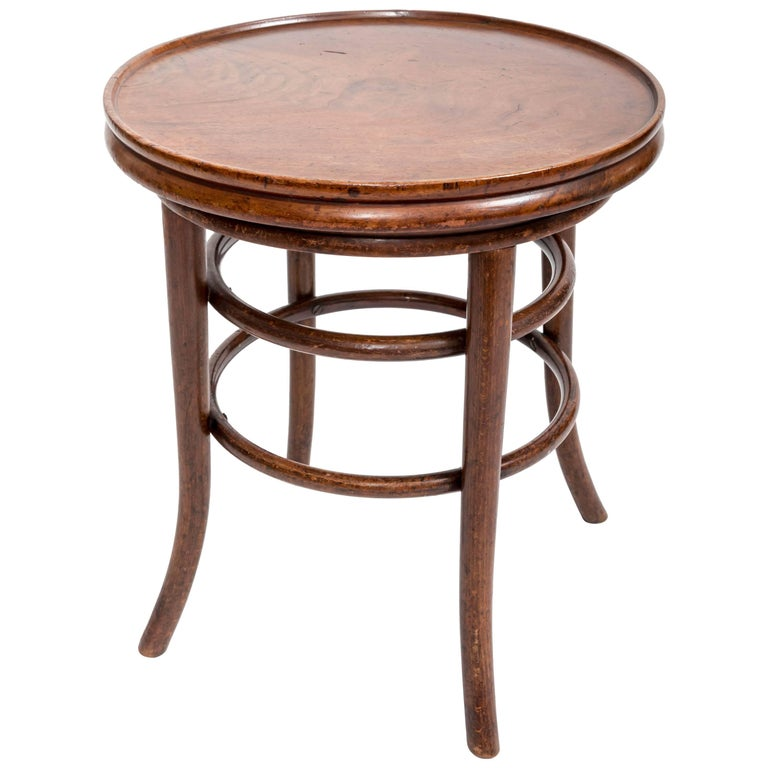 19th Century Bentwood Side Table, England, circa 1890 For Sale
