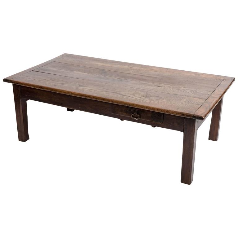Early 19th Century Chestnut Coffee Table, France, circa 1840 For Sale