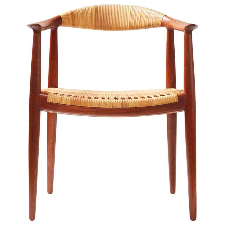 """Hans J. Wegner Teak JH-501 """"The Chair"""", 1949"""