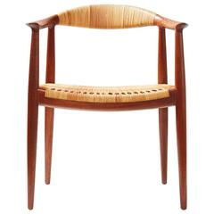"Hans J. Wegner Teak JH-501 ""The Chair"", 1949"