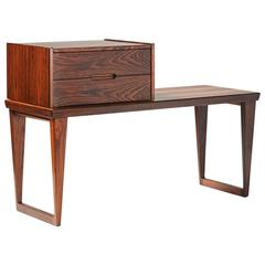 Kai Kristiansen Rosewood Bench and Drawers Set, circa 1960