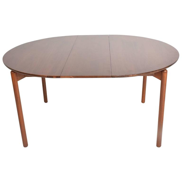 Mid Century Modern Walnut Dining Table By Greta Grossman For