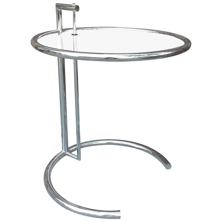 Eileen gray style side table at 1stdibs - Eileen gray table original ...