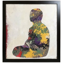 Serenity Buddha Painting by John Frates