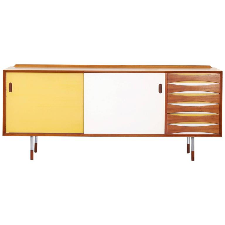 Rare Sideboard by Arne Vodder for Sibast Furniture Mod. 29, Denmark, 1958