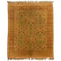 Antique Spanish Cuenca Rug