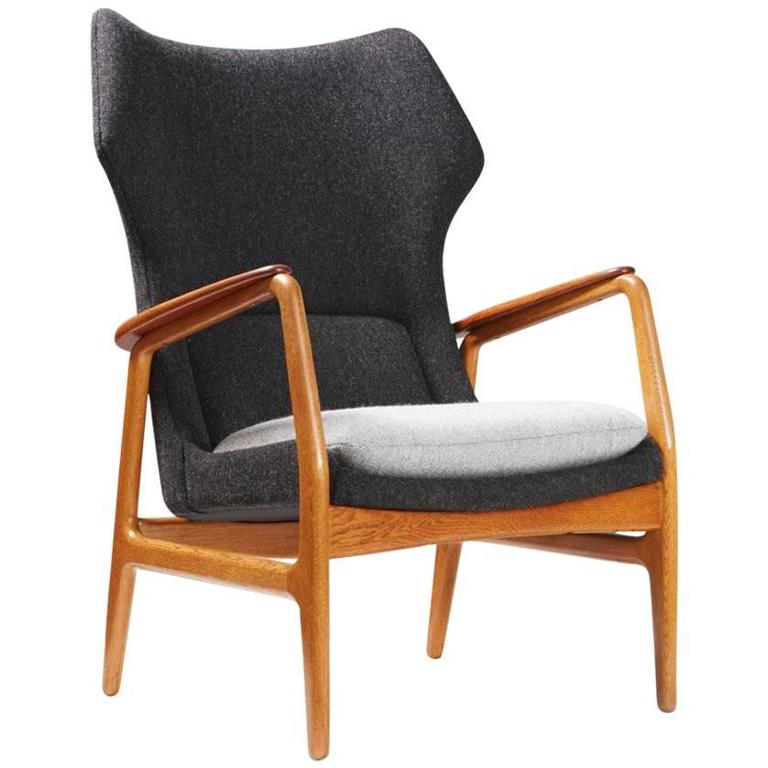 1960s Missoni Wingback Chair At 1stdibs: Aksel Bender Madsen Bovenkamp Wing Chair, Circa 1960 At