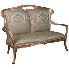 Canapee Sofa in the Art Nouveau Style