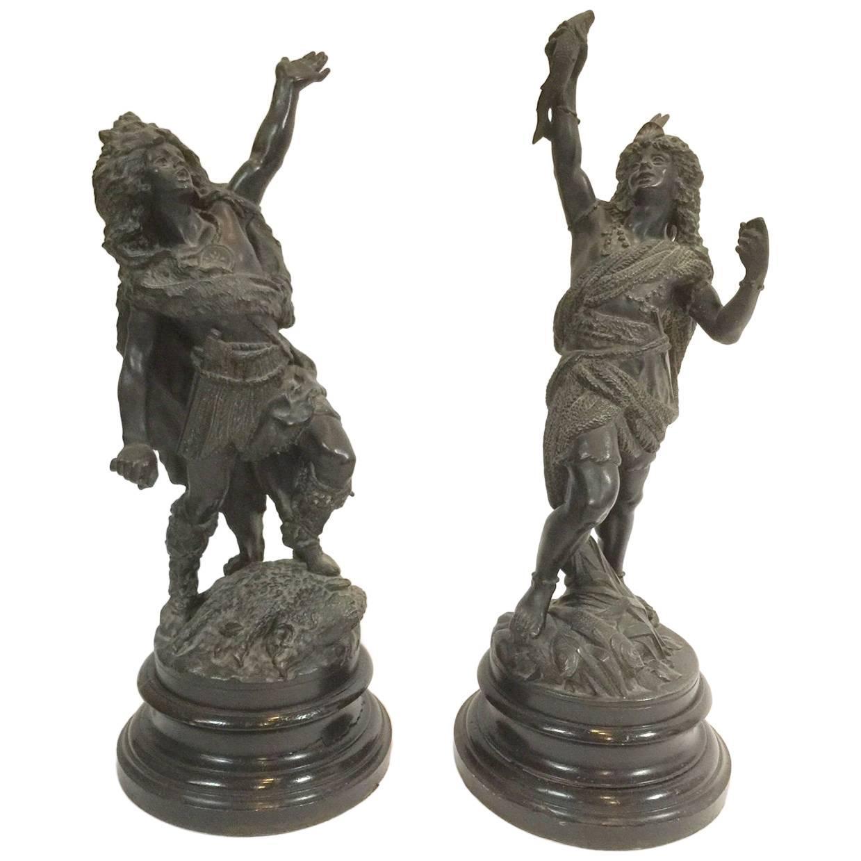 Rancoulet Bronze Indians