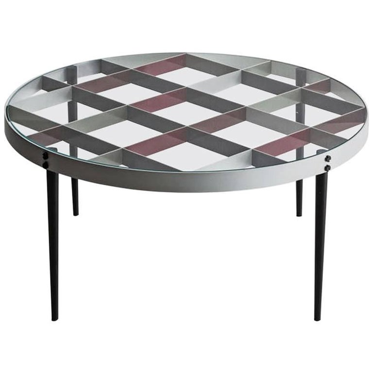 Molteni Gio Ponti D.555.1 Small Coffee Table For Sale