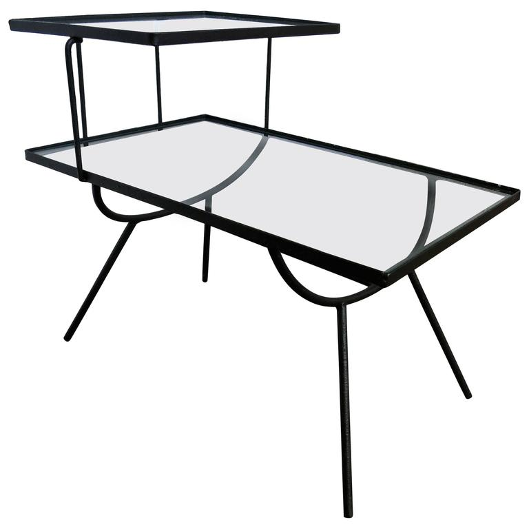 Attractive George Nelson For Arbuck Style Step Side Table Frank And Sons For Sale