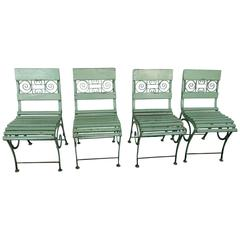 French Style Garden Chairs, Early 20th Century