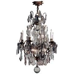 Antique Louis XV Style Thirteen-Light Chandelier