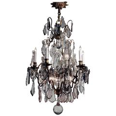 Antique Louis XV Style Thirteen-Light Chandelier