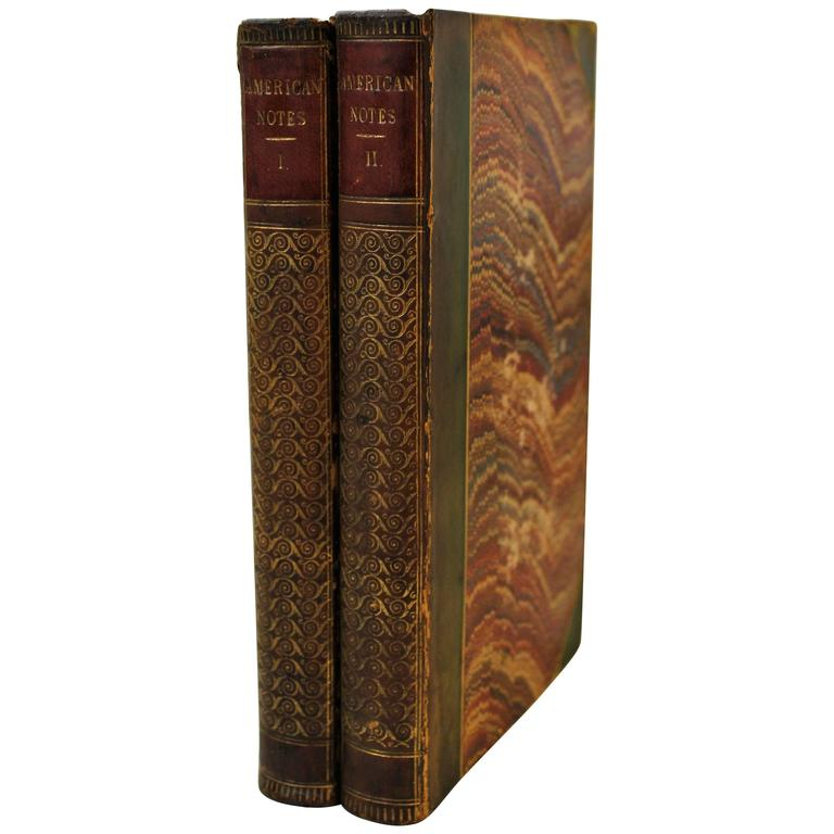 'American Notes' First Edition Books by Charles Dickens For Sale