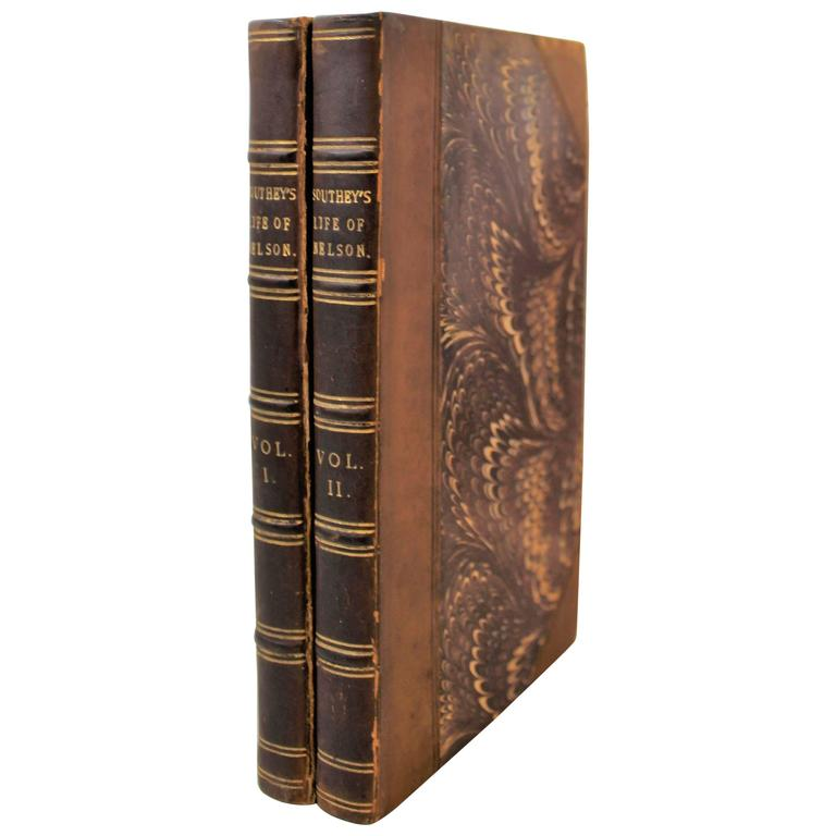"'The Life of Nelson"" First Edition books by Robert Southey"