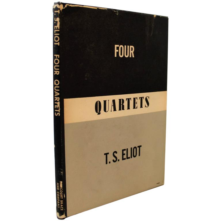 'Four Quartets' First Edition Book by T.S. Eliot For Sale
