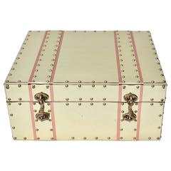 Sarreid Ltd. Style Brass and Copper Storage Box