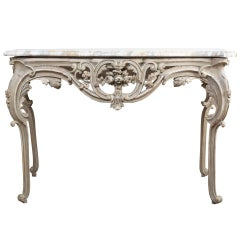 Louis XV Style Painted Console