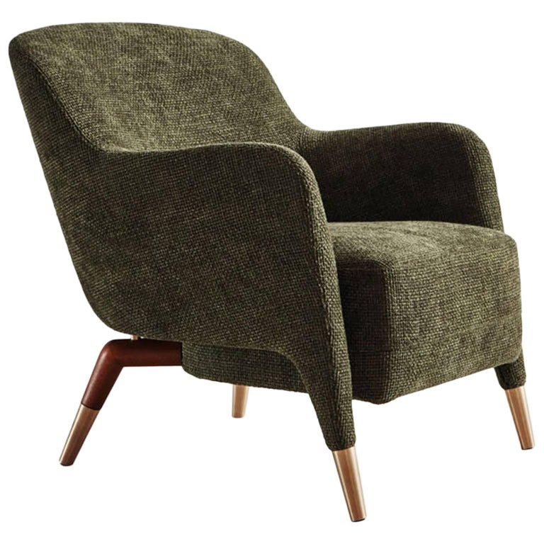 Molteni Gio Ponti D.151.4 Armchair For Sale at 1stdibs