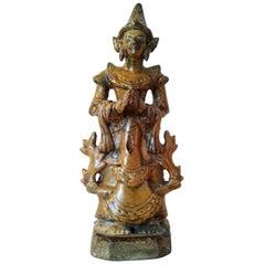 Thai Ceramic Angel Statue