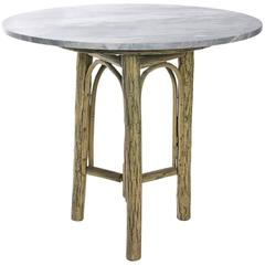 Tree Form and Marble Table