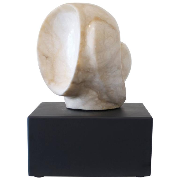 Abstract Marble Sculpture by California Artist Olivia Walker Priller