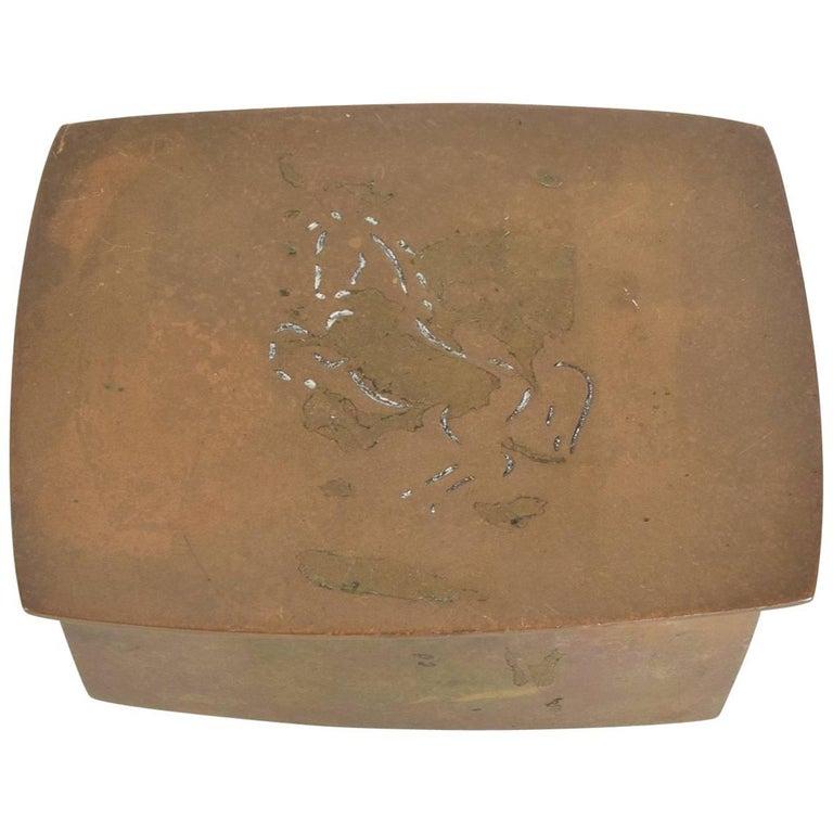 Decorative Bronze Box by Wah Ming Chang