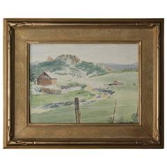 California Landscape Signed by Robert Jensen