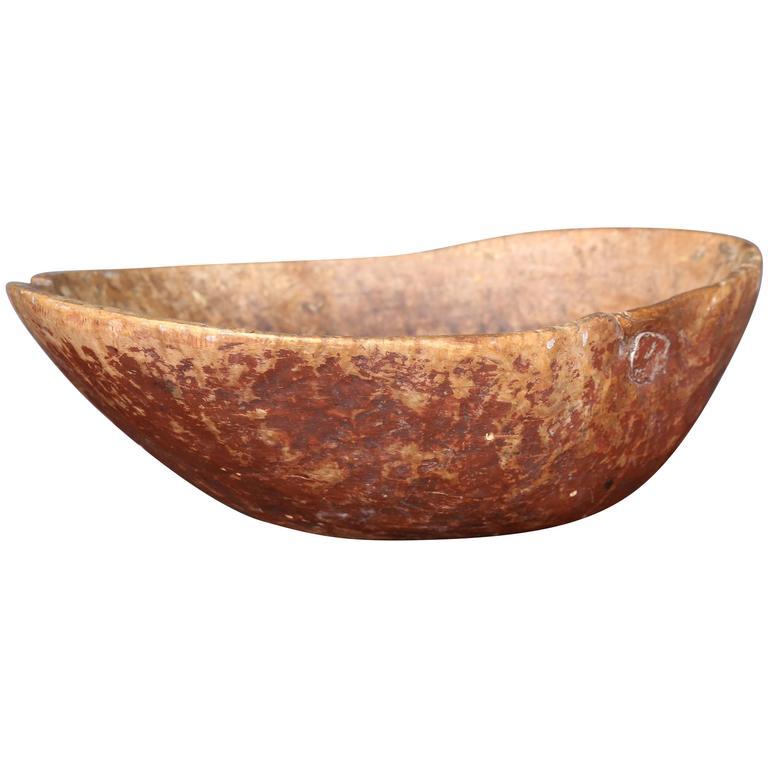 19th Century Swedish Root Bowl