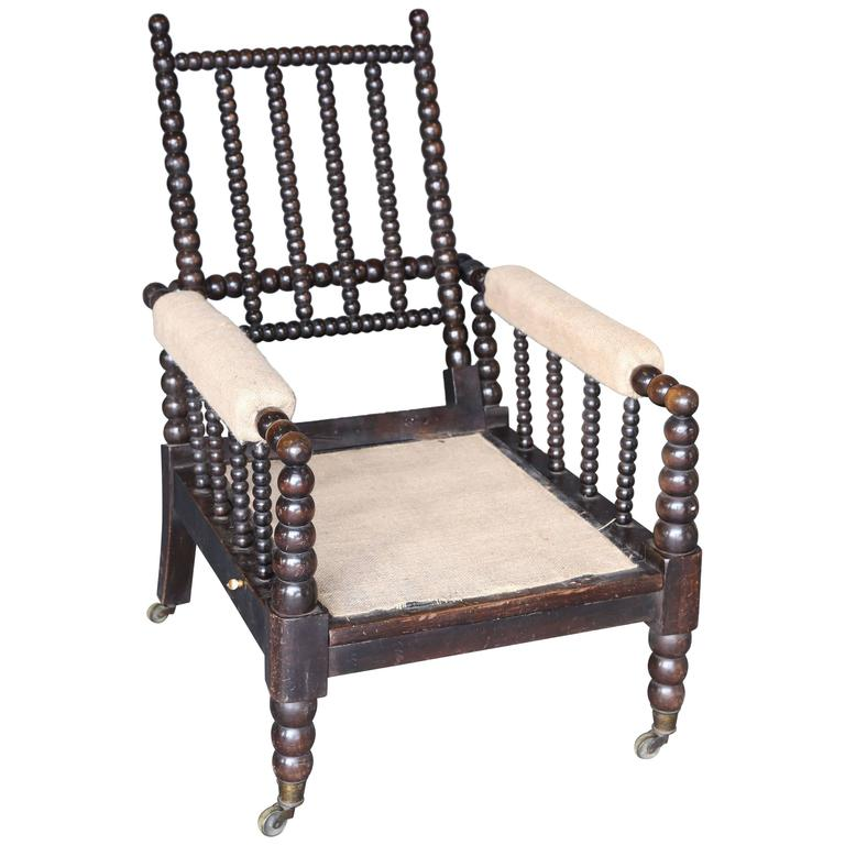 19th Century Bobbin Chair For Sale at 1stdibs