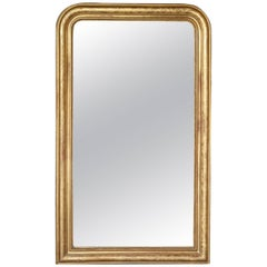 19th Century Louis Philippe Gilt Mirror