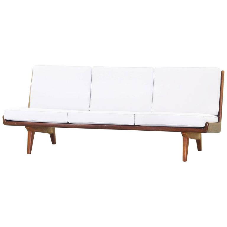 Beautiful Sofa by Carl Gustaf Hiort Af Ornäs, Sweden, 1950 For Sale