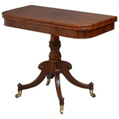 Regency Tea Table Mahogany Table