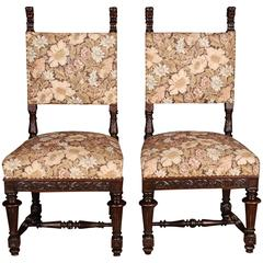 Two Neo Renaissance Chairs, circa 1870-1880