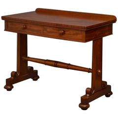 William IV Side Table or Writing Table