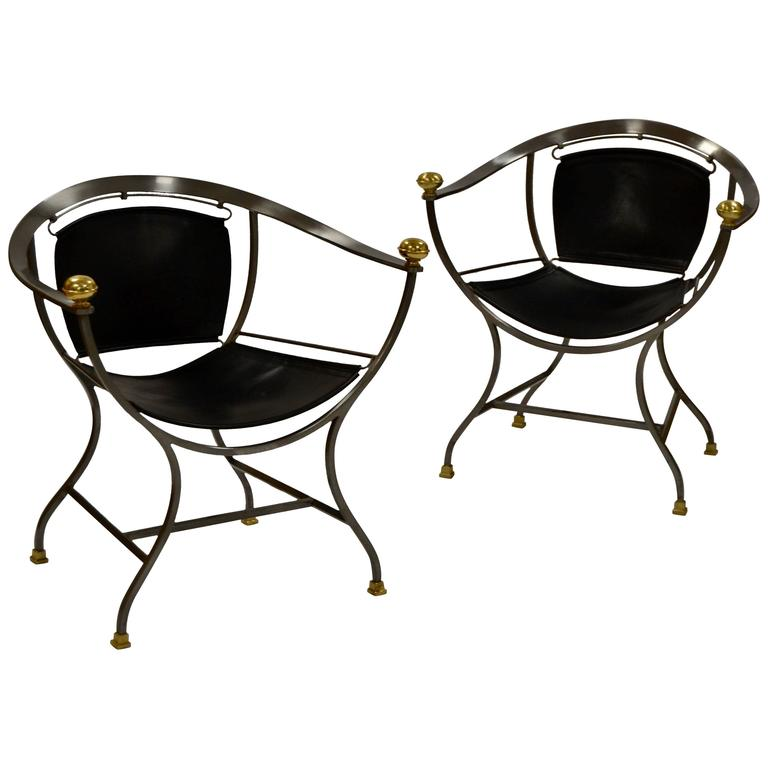 Pair of Armchairs 1970s Italian Designer Alberto Orlandi 1