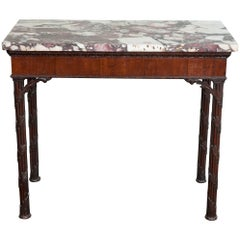 Superb Chippendale Period Mahogany Side Table