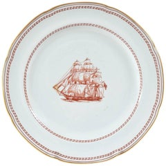 "Dinner Plate, Spode England ""Tradewinds"", Chinese Export Style"