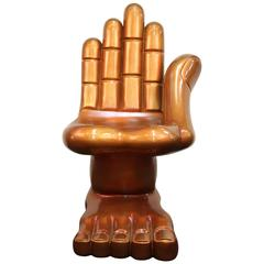 Hand and Foot Fiberglass Chair