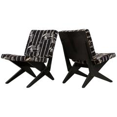 "Pair of Grunsven ""Scissor"" Chair for UMS Pastoe"