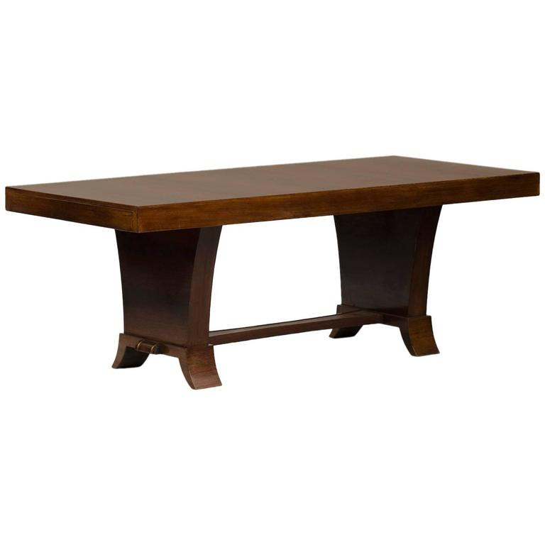 Art deco dining table for sale at 1stdibs for Artistic dining room tables