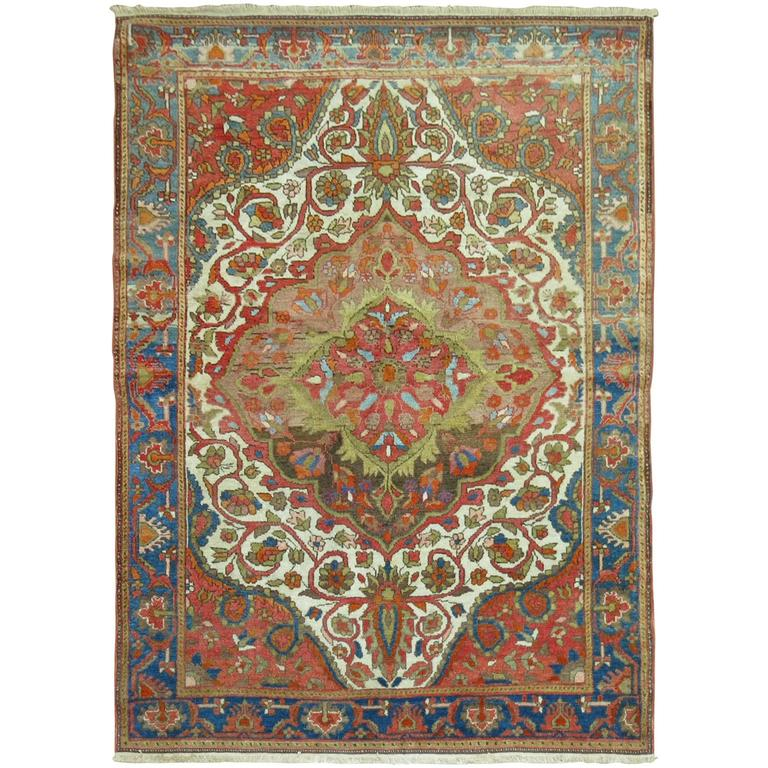 Antique Persian Malayer Connoisseur Rug